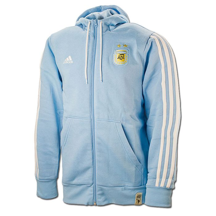 a3e0a5460 Adidas Youth Boy s Messi Half Zip Hoodie (Blue)