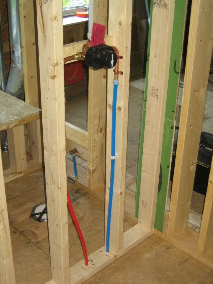 80 best pex piping tips images on pinterest pex plumbing for Using pex for drain lines