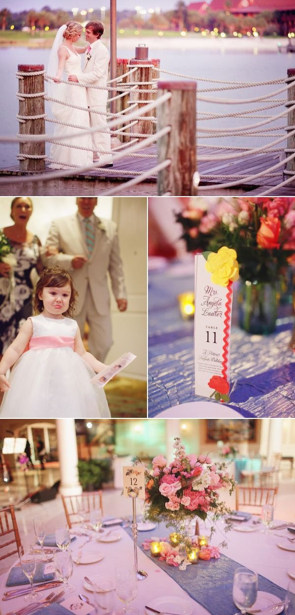 Walt Disney World Wedding from BinaryFlips Photography vestidos de #novia