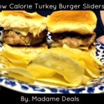 Low Calorie Turkey Burger Sliders