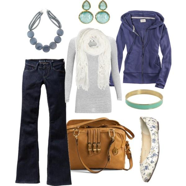 indigo & aqua, created by htotheb: Everyday Wear, Fashion Heavens, Dreams Closet, Blue, Fashion Center, Fashion Looks, Casual Outfits, Aqua, Bags