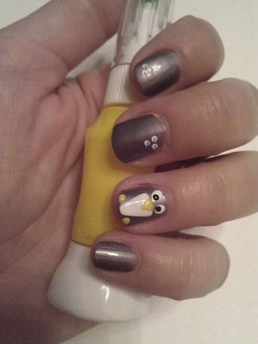 7 best Penguin nail art images on Pinterest | Penguin ...