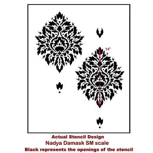 Pd 129764 44282 CS27383 0 in addition Nadya Damask Stencil as well Medieval Gothic Style Bedroom Decor further 325877723006766567 additionally 573575702522581668. on wallpaper for walls and paint ideas