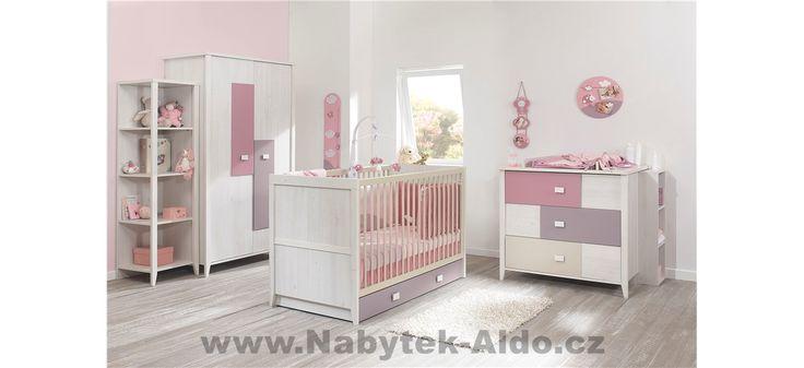Dětský pokoj pro miminko holčičku Charly