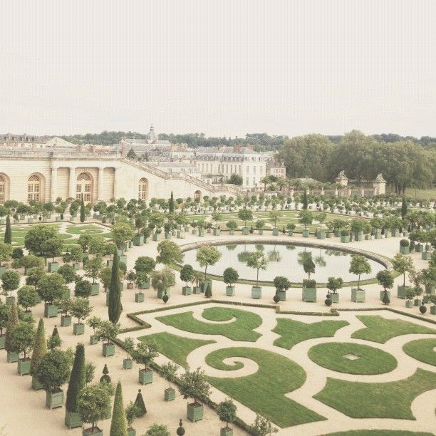 the gardens of versailles by @Anna Bond