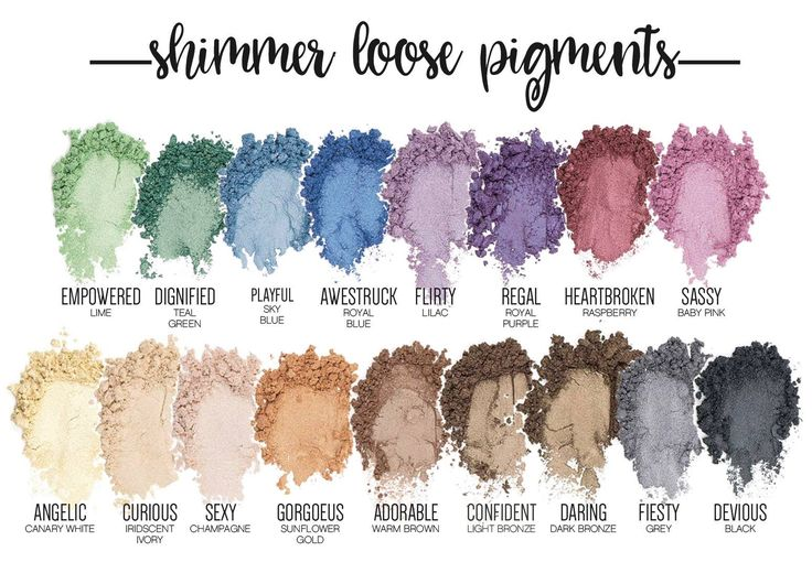 Younique shimmer pigments