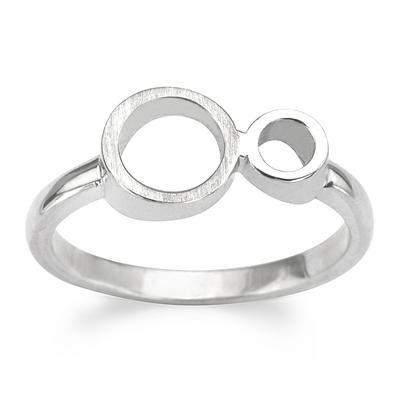 Studio Y: Pierścionek Luna CENA PROMOCYJNA: 52.50 PLN www.YES.pl/41892-studio-y-pierscionek-luna-AB-S-000-SYG-1024915 • #silver #promocja #sale #bizuteria #jewellery #przecena #beautiful  #YES #style #ring #luna #perfect #bling