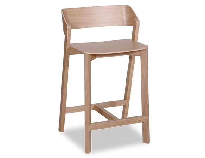 The Merano Natural Oak Barstool Offers A Modern Look In Chic Great For Your Commercial Dining Furniture Or Home Design