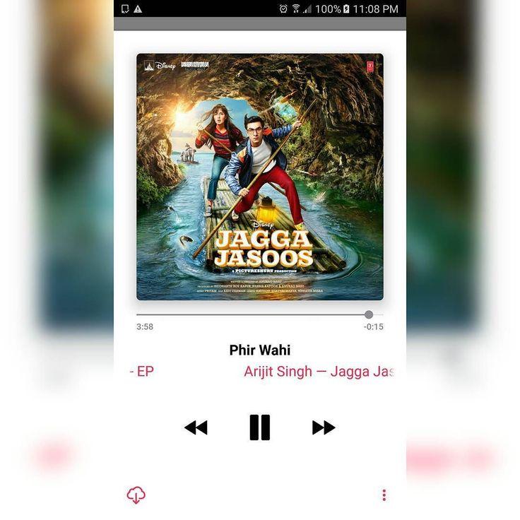 #PhirWahi #JaggaJasoos #ArijitSingh #NowPlaying #JaggaJasoos