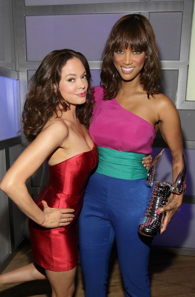 Stunning Tyra Banks ...  She makes me wanne be rich and powerful!...   Banks is the creator and host of the UPN/The CW reality television show America's Next Top Model, co-creator of True Beauty, and was the host of her own talk show, The Tyra Banks Show.