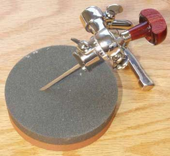 Crocker Sharpener for #linocut tools and #wood engraving #tools #printmaking