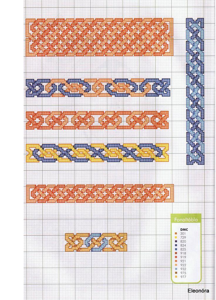 Celtic Cross-stitch borders