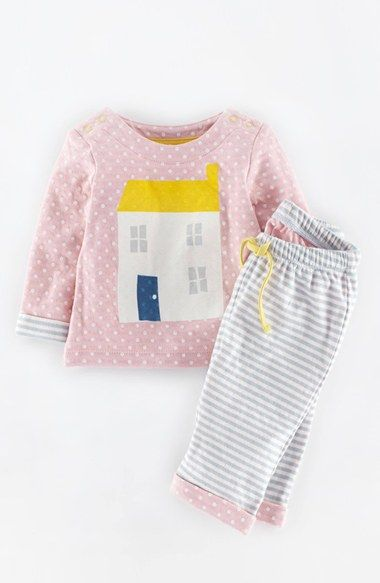 Infant girl 39 s mini boden 39 logo 39 top pants baby girls for Shop mini boden