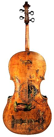 Violoncello by Andrea Amati, Cremona, after 1538