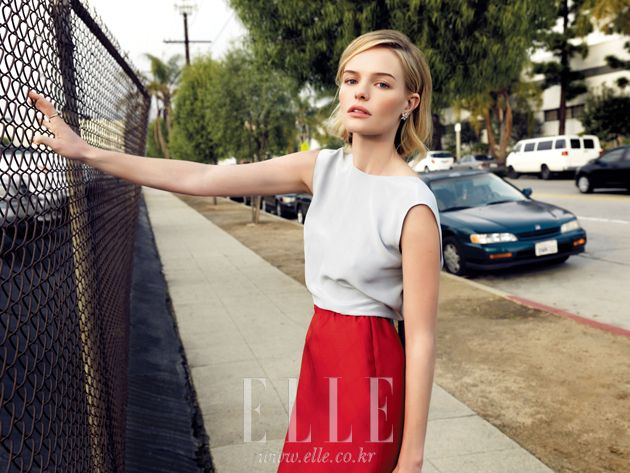 Kate Bosworth in Elle Korea February 2012