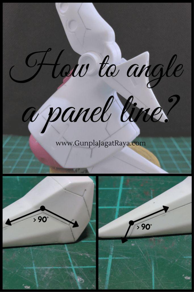 Gunpla tutorial. Gunpla techniques on scribing panel lines.