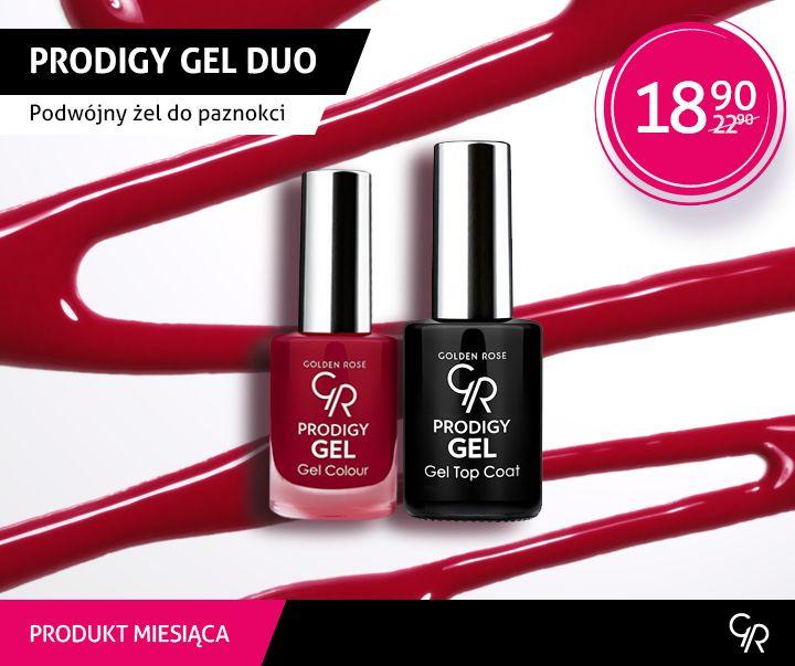 W grudniu produktem miesiąca zostają żelowe lakiery Prodigy Gel Duo.