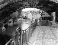 Under the Charles Bridge