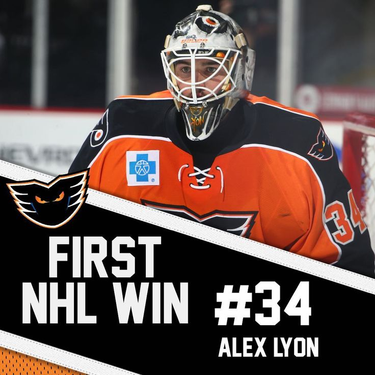Congrats to Lehigh Valley Phantoms goaltender Alex Lyon on earning his first NHL win with the @philadelphiaflyers in this afternoon's game against the Rangers! He turned aside 25 of 26 shots he faced with a .962 Save Percentage.   #LehighValley #Phantoms #AHL #LehighValleyPhantoms #LVPhantoms #IceHockey #Hockey #Win #FirstWin #First #NHL #PhiladelphiaFlyers #Flyers #Philadelphia #Goaltender #Goalie
