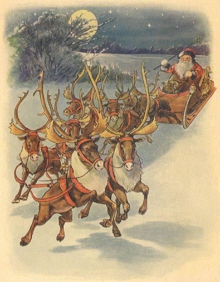 Old Christmas Post Сards —  Victorian Christmas Postcards  (703x900):