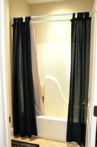Best 25 Shower Curtain Rods Ideas On Pinterest Camper