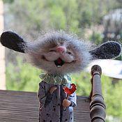 Куклы и игрушки ручной работы. Ярмарка Мастеров - ручная работа Петушок на палочке). Handmade.