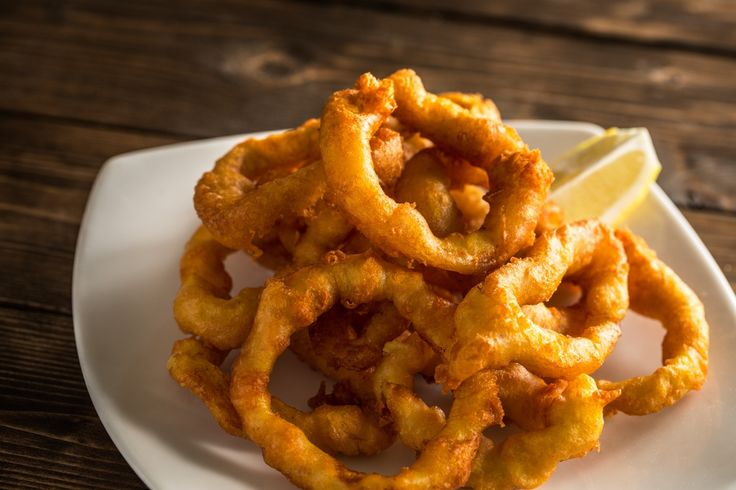Welcome to my flourless truly crispy calamari rings in the air fryer recipe.