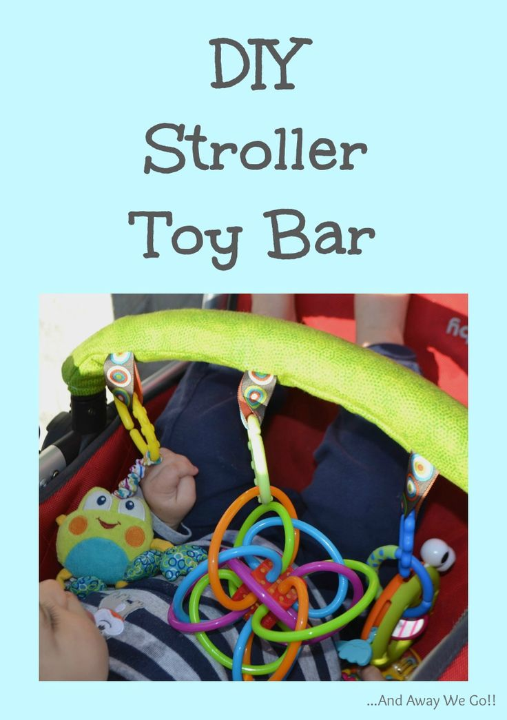 Stroller toy bar