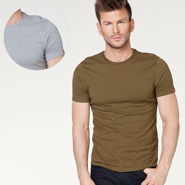 #new #newcollection #newarrivals #men #mencollection #levis #liveinlevis #levisstrauss #fw15 #fallwinter15 #tshirt #tshirts #2pack #twocolors #tee #olive #grey #slim