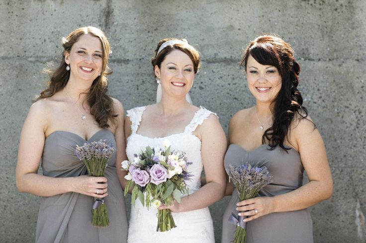 Lavender & Grey Wedding Party