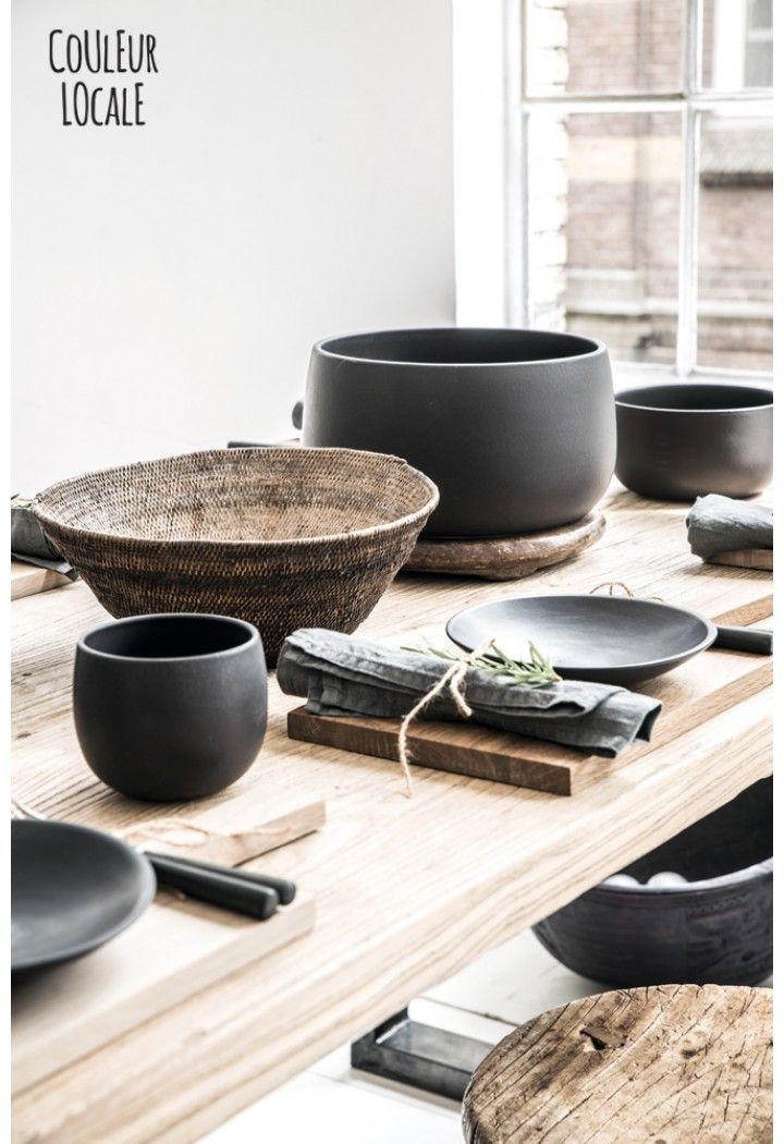 Black Ceramics by Nelson Sepulveda - Home Decoration