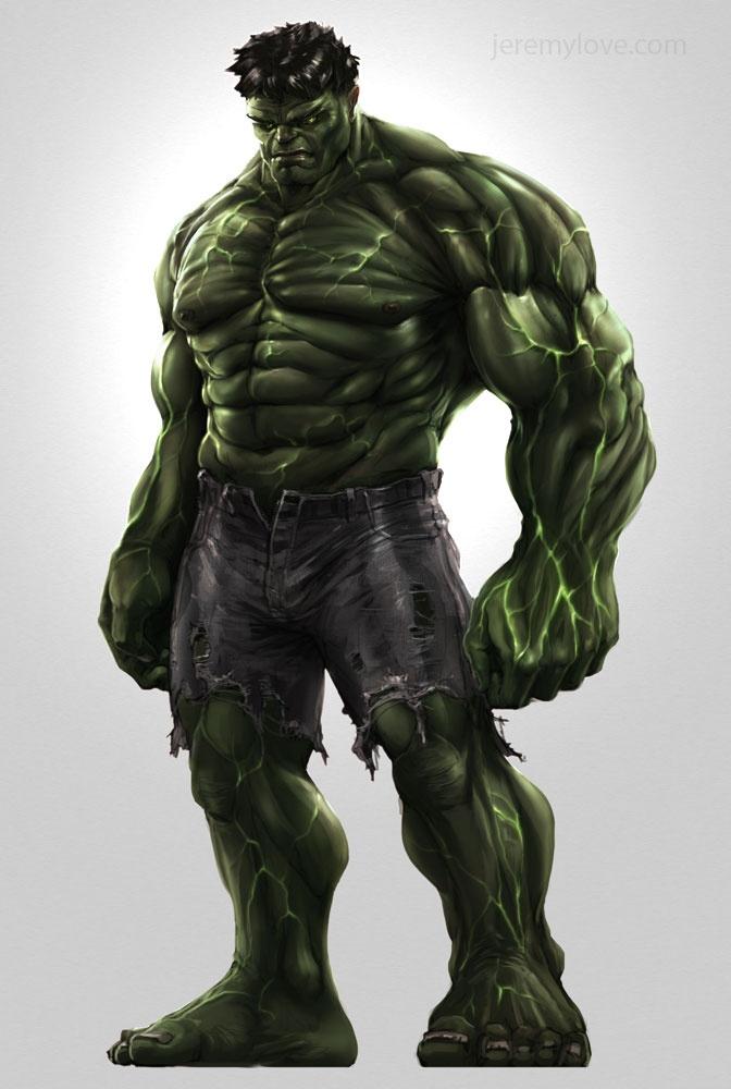 I just wanna go hulk right now