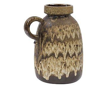 Vaso in ceramica anni 60 West Germany p.unico - d 28/h 33 cm ...