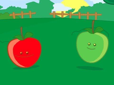 Pomme de reinette et pomme d'api - YouTube