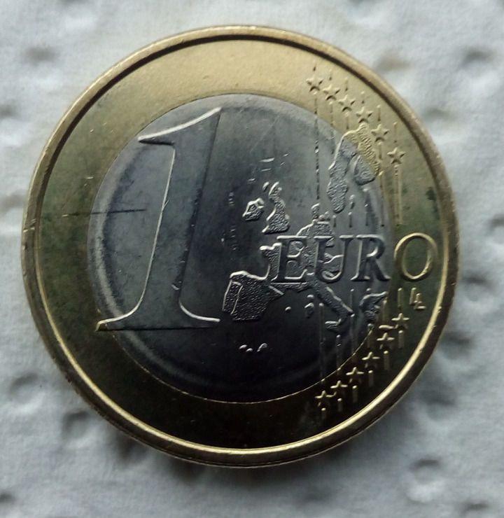 1 Euro 2005 J Fehlprägung Verprägung Rarität Einzelstück