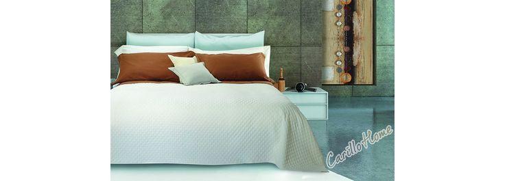 Copriletto in cotone Maia #letto #carillohome #home www.carillohome.com #lenzuola #copriletto #lenzuolamatrimoniale
