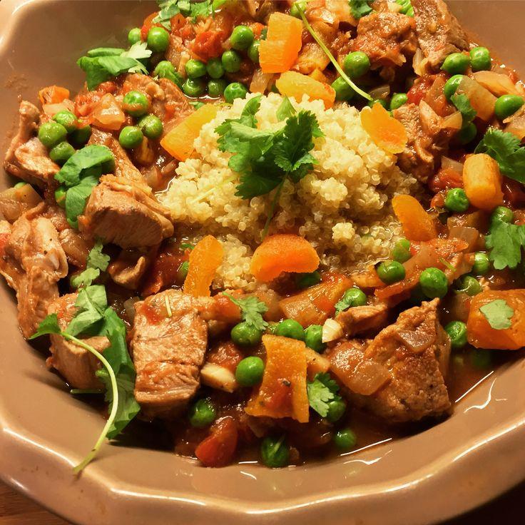 Marokkansk inspirert lammegryte m/quinoa