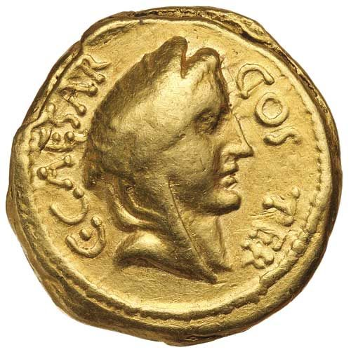 ncient Gold Coins - Roman / JULIUS CAESAR, (assassinated 44 B.C.), gold aureus... Realisation Price$3,100.00 AUD... Click VISIT to find out more and see 10,000+ Gold Coins at MAD On Collections. Please feel free to pin or share this coin.