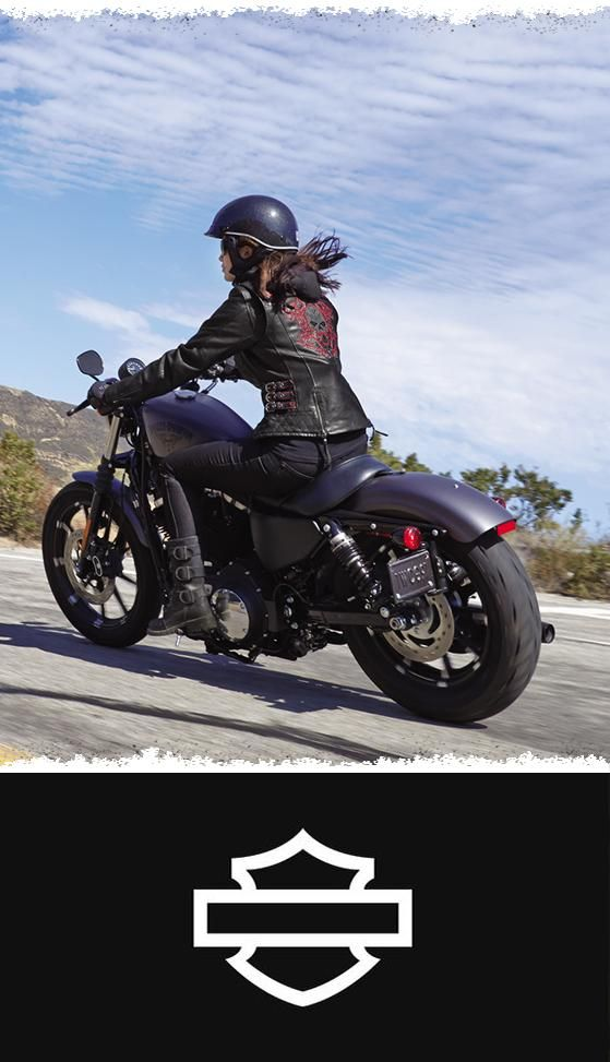 We went all out for the ladies'. For warmth and versatility, the full-sleeve fleece hoodie is added.| Harley-Davidson Women's Scroll Skull 3-in-1 Leather Jacket