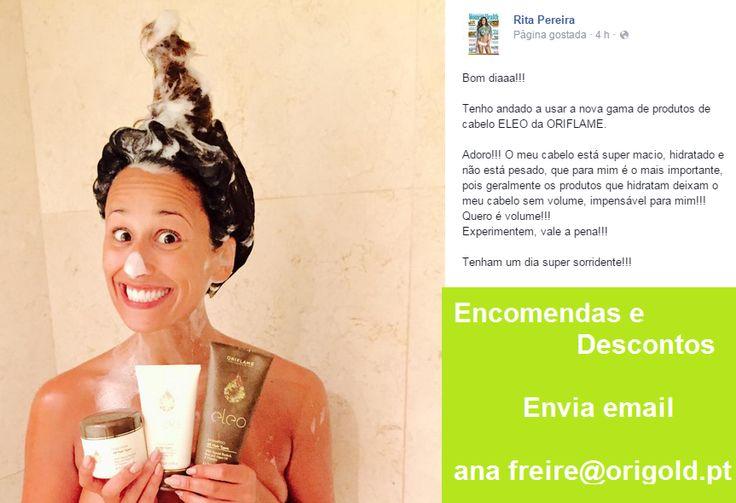 A Rita já experimentou a nova gama! E tu? Queres comprar com desconto? http://bit.ly/1aF2Li7