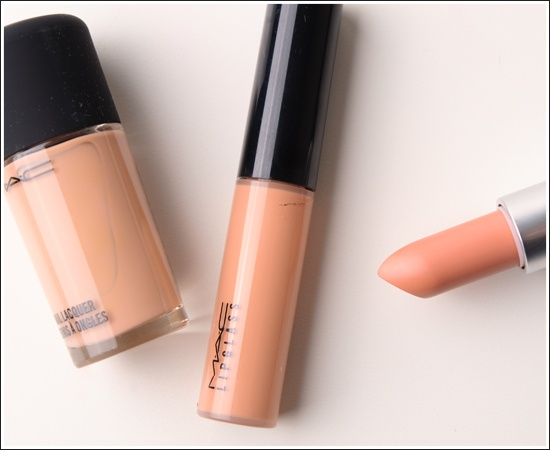 Wonder if this is a good nude for me - Mac Myth Set.