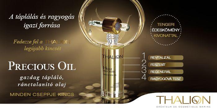 Precious Oil olajunk nem csak hidratál, hanem ránctalanít is!  http://www.thalion.hu/products/view/115