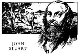John McDouall Stuart was born in Dysart, Scotland, in 1815 and came to Australia in 1838 to seek his fortune. A draughtsman, he accompanied Captain Charles Sturt on his 1844 expedition to Central Australia, after surveying extensively throughout South Australia.