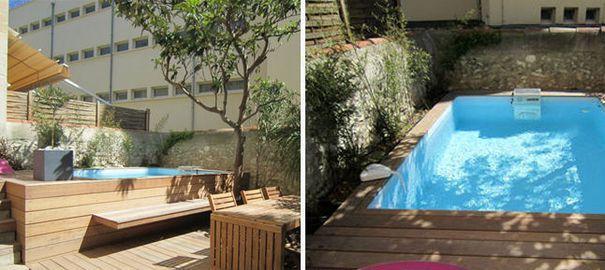 Pourquoi pas une mini piscine pour une maison de ville ?