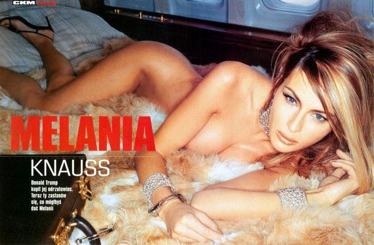 10 rarely seen, sexy images of Donald Trump's wife Melania Trump trending.