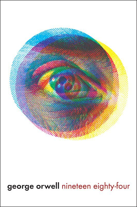 George Orwell 1984 awesome book cover design