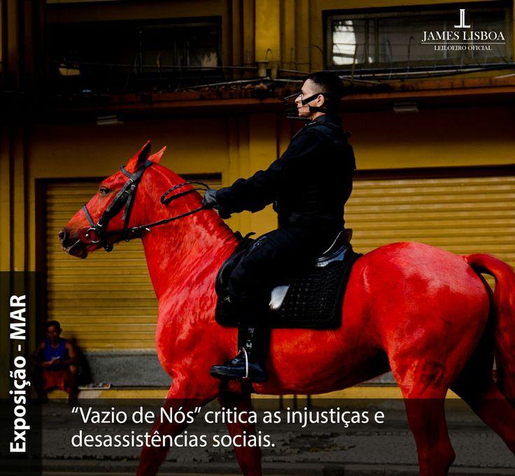 Mídia Social - Exposição arte performática. #post #socialmedia