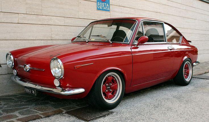 Fiat  850  Coupé  italiandesign