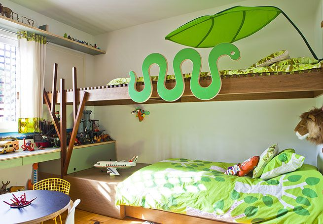 menino, madeira, verde, azul, floresta