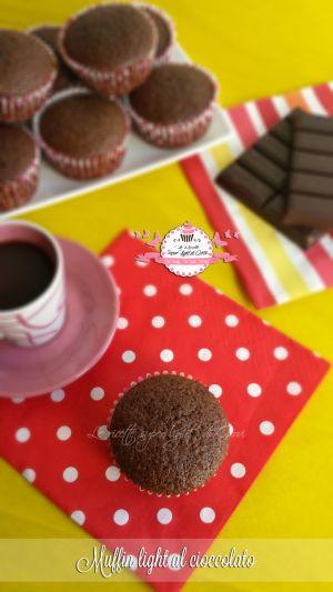 Muffin light al cioccolato